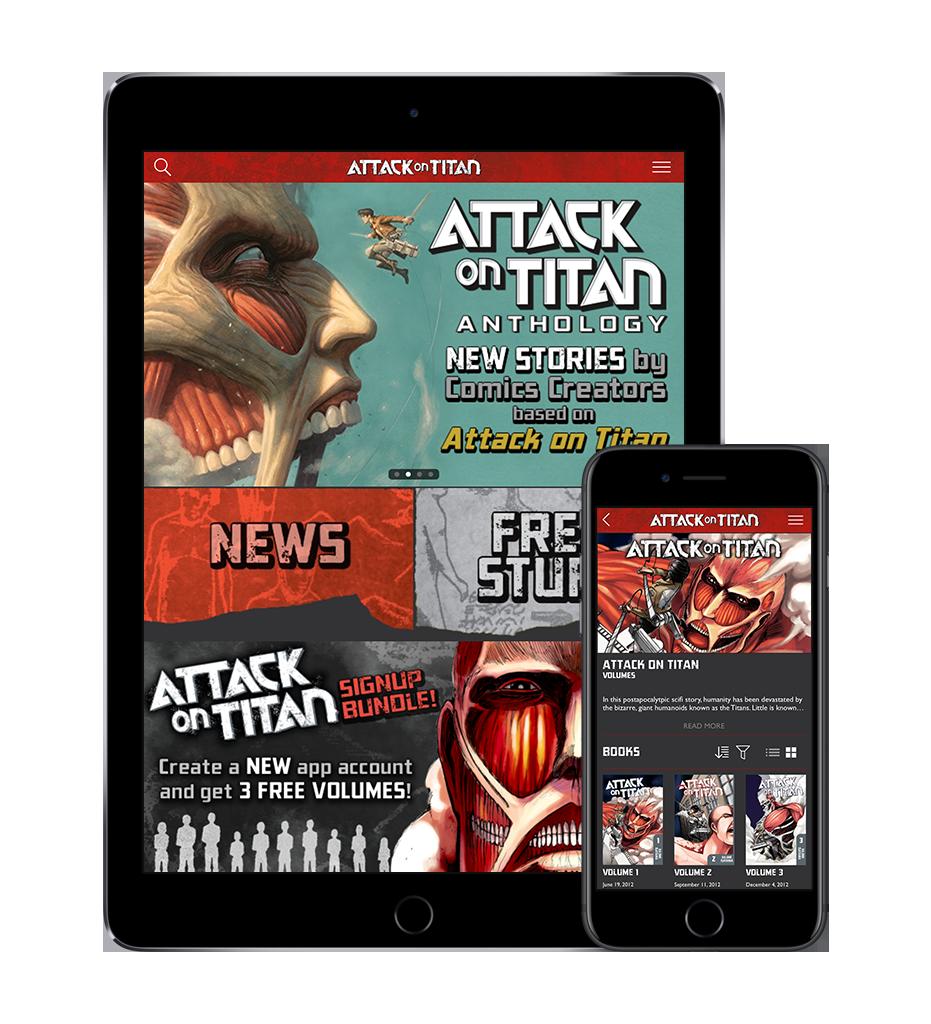 Attack on Titan Manga App Launches from Kodansha Comics - The Geekiary
