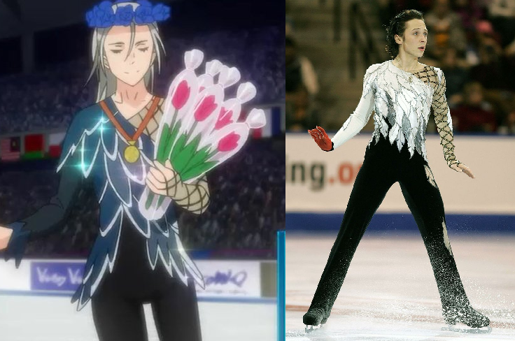 Johnny weir is going to watch yuri on ice everyone is excited johnny weir voltagebd Choice Image