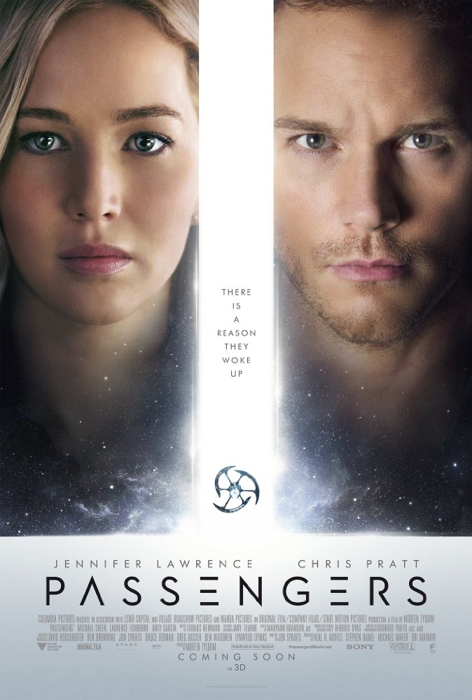 Passengers 2016 Chris Pratt Jennifer Lawrence