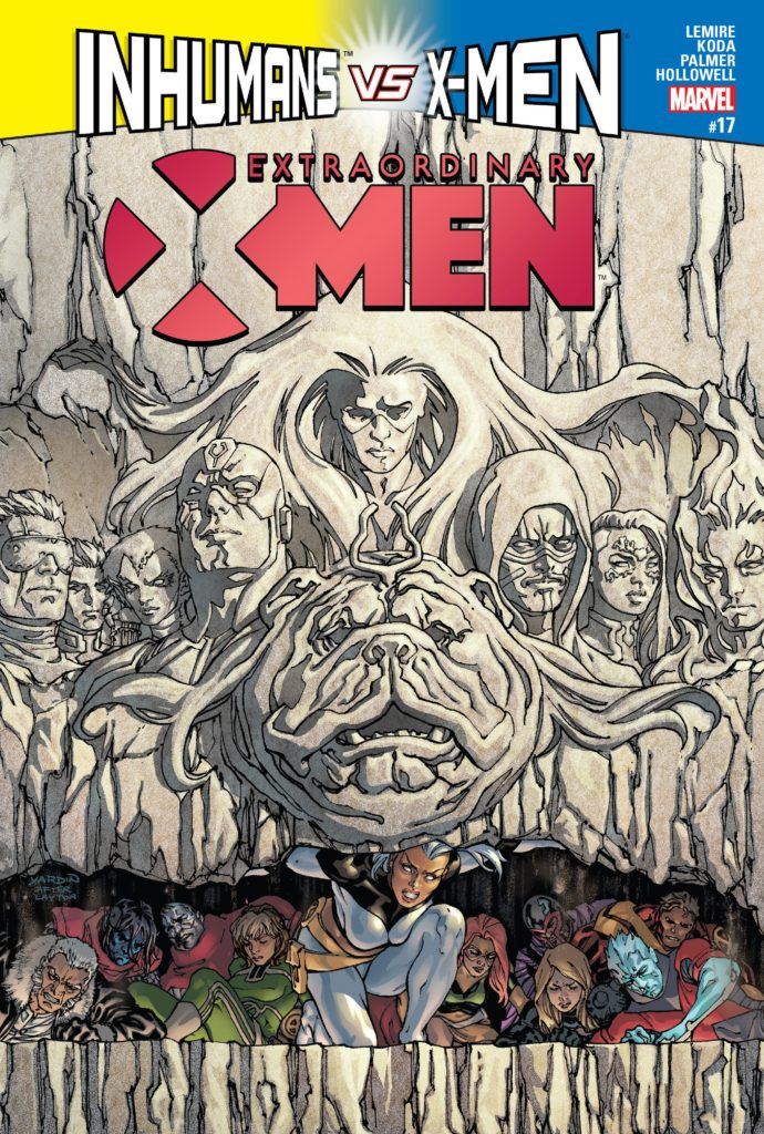 Extraordinary X-Men Issue 17 Storm IvX Inhumans vs X-Men