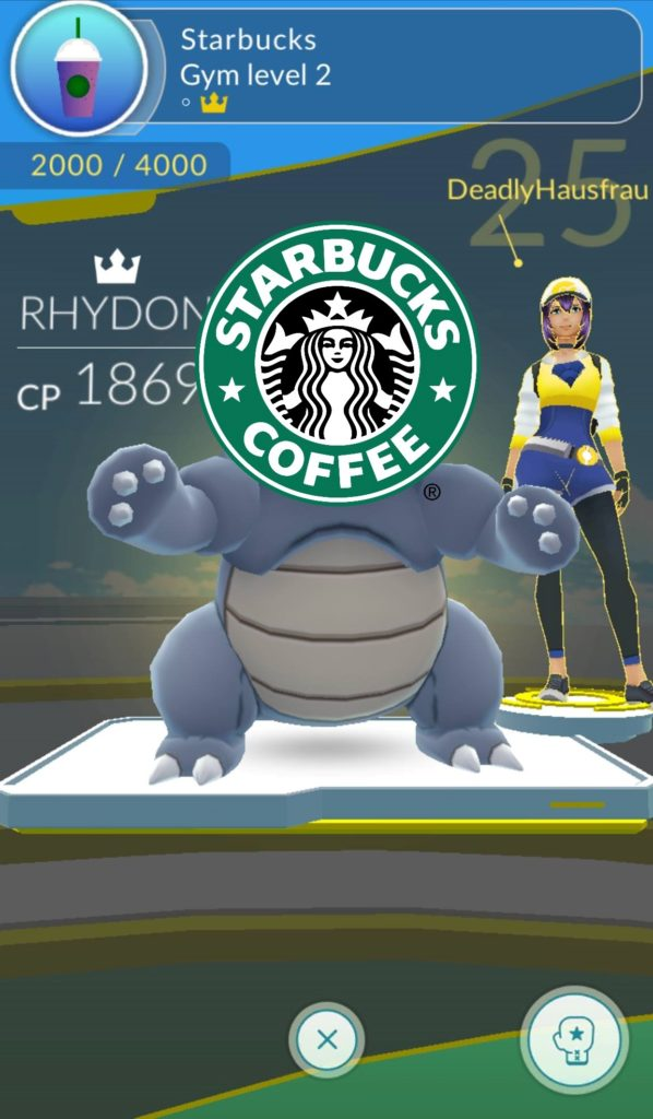 starbucks pokemon go