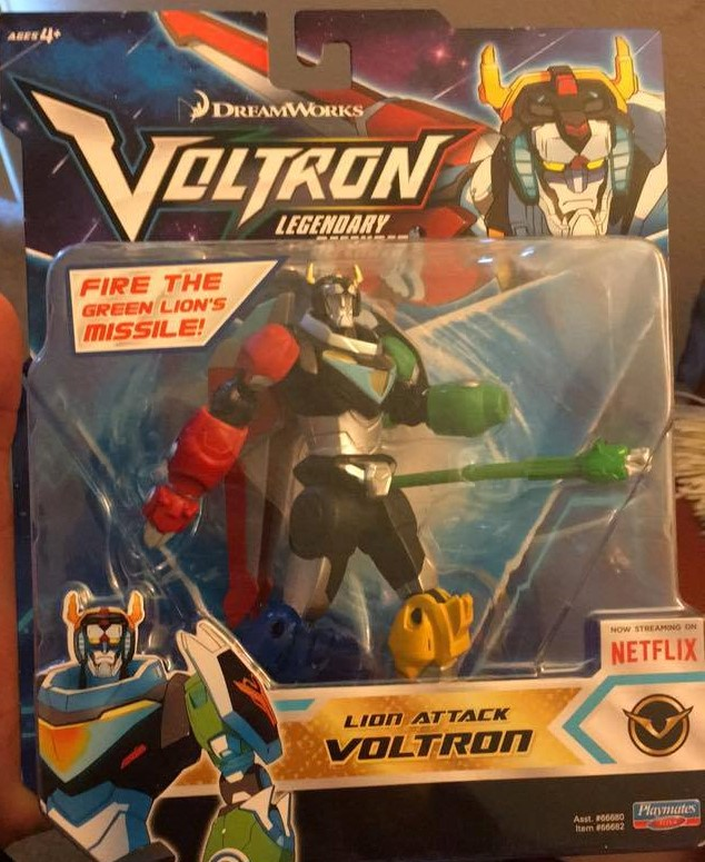 Playmates Toys Voltron Legendary Defender Basic Lion Attack Voltron toy review