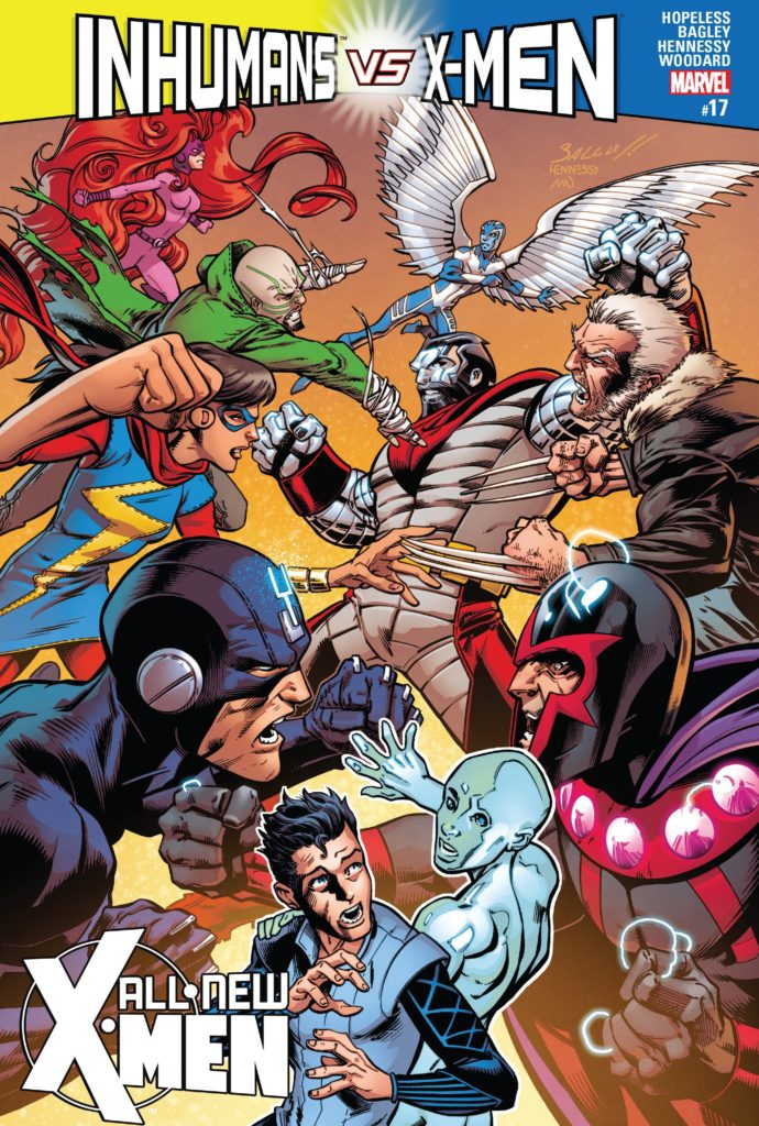 All-New X-Men Issue 17 Bobby Romeo IvX