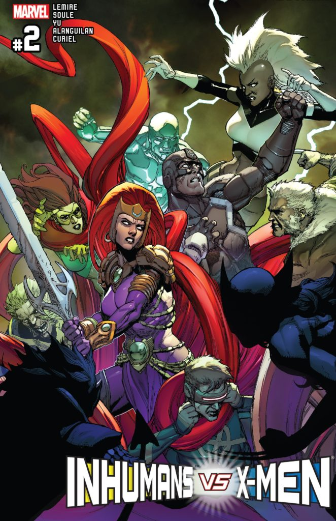 Inhumans vs X-Men IvX Issue 2
