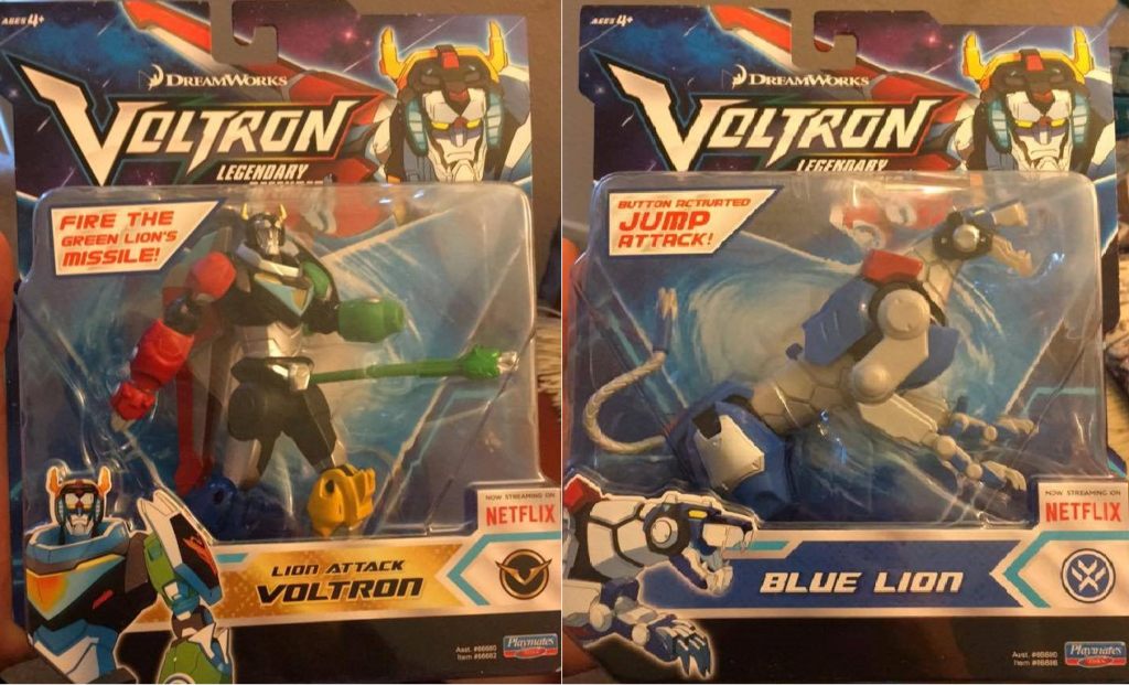 Voltron Legendary Defender Playmates Toys DreamWorks Animation