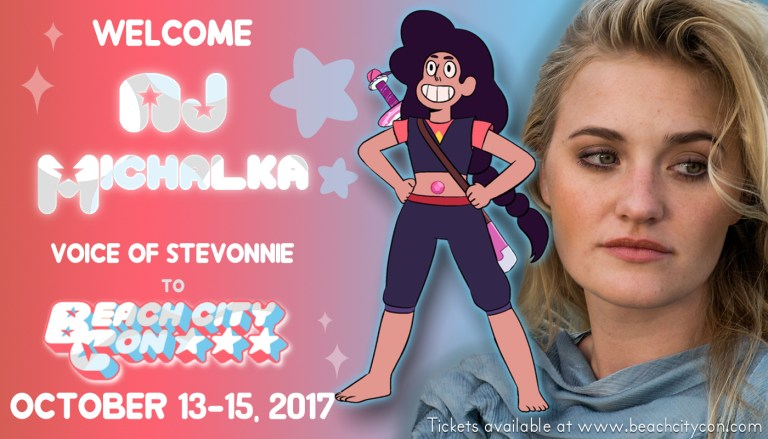 Beach City Con 2017 AJ Michalka Special Guest