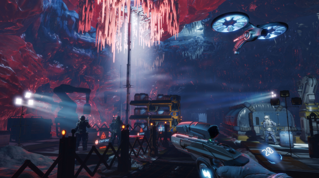 Arktika 1 4A Games screenshot