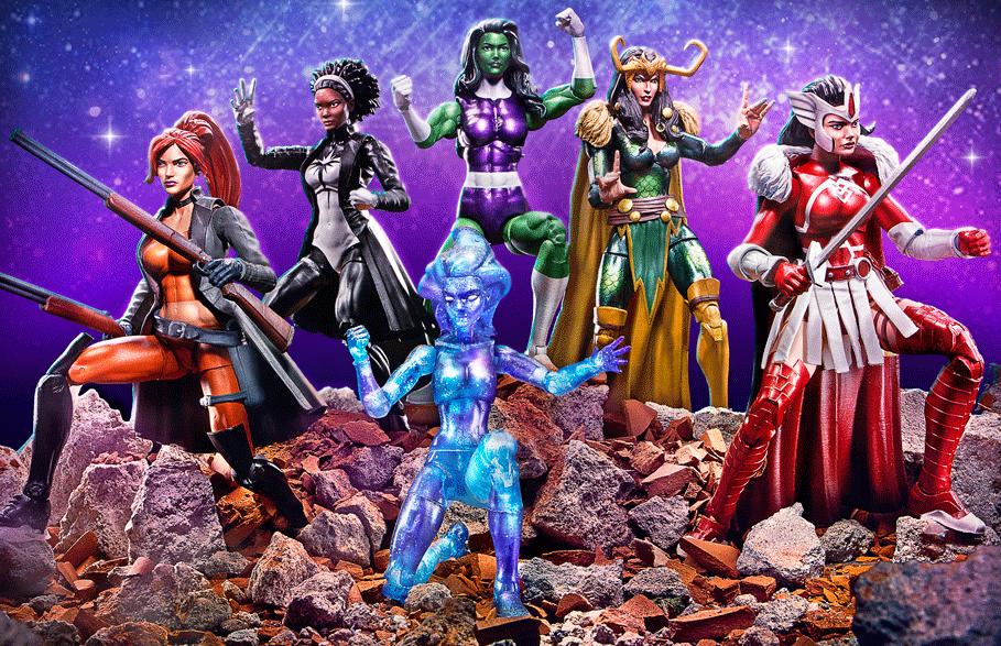 Hasbro Toyfair 2017 Marvel Star Wars Blink A-Force toys