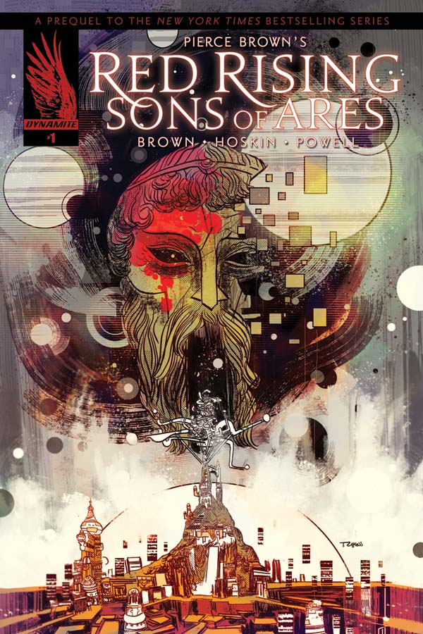 Sons of Ares Child on the Rock comic cover