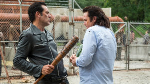 Hostiles and Calamities The Walking Dead Negan Eugene
