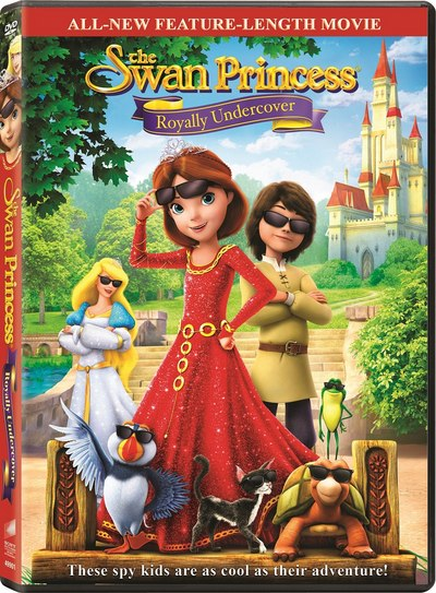 The swan Princess Royally Undercover DVD