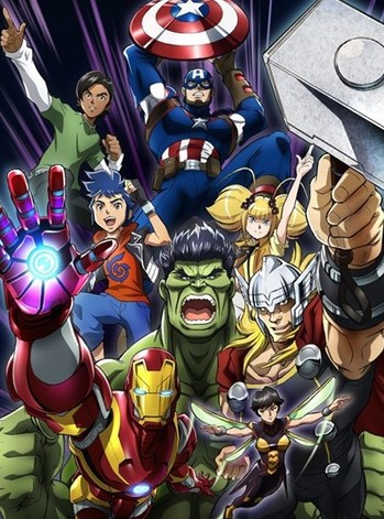 Marvel Future Avengers anime manga