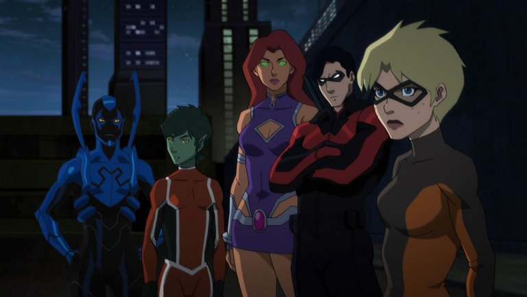 Teen Titans The Judas Contract Cast