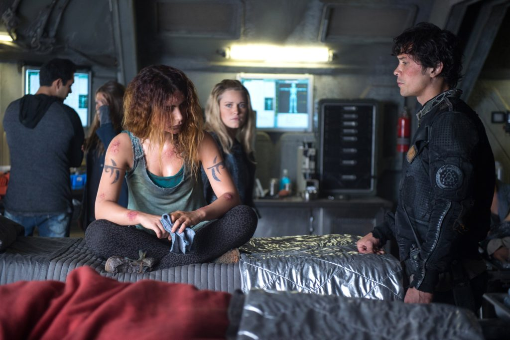 The Four Horsemen, Luna and Bellamy, The 100