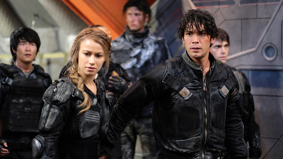 Heavy Lies the Crown The 100 Bellamy