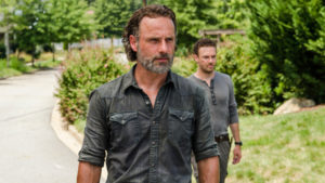 Rock in the Road The Walking Dead Rick Grimes