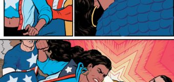 """America"" Issue 1 – Hitler Gets Punched by a Queer Woman of Color!"