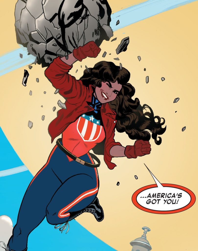 America Issue 1 marvel comics