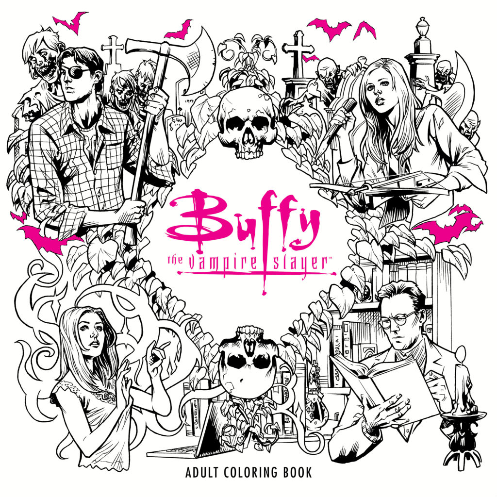 Buffy the vampire slayer 20th anniversary extravaganza for Buffy coloring pages