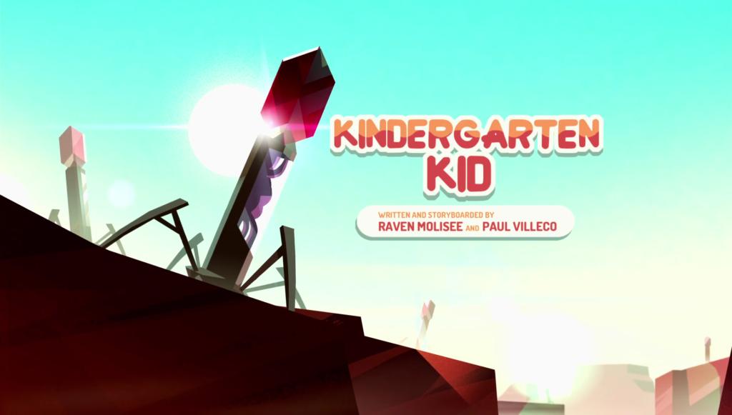 Steven Universe Season 4 Masterpost Kindergarten Kid