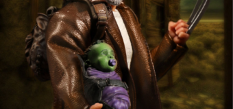 The One:12 Collective Old Man Logan Figure by Mezco Toys Comes with Baby Hulk