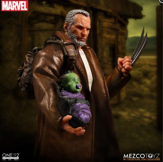 Old Man Logan Mezco Toys