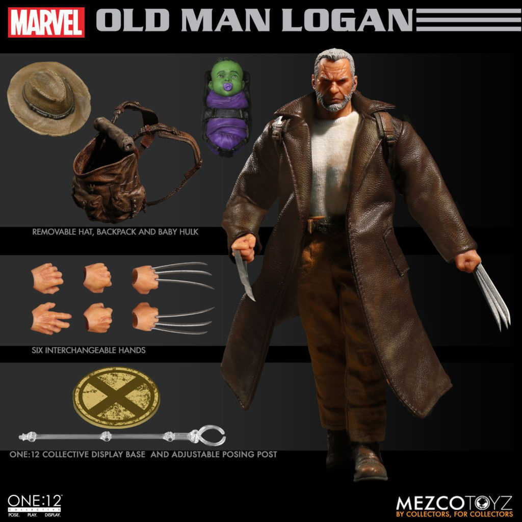 Collective Old Man Logan Mezco Toys