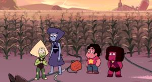 Room for Ruby Steven Universe Navy Lapis Lazuli Peridot