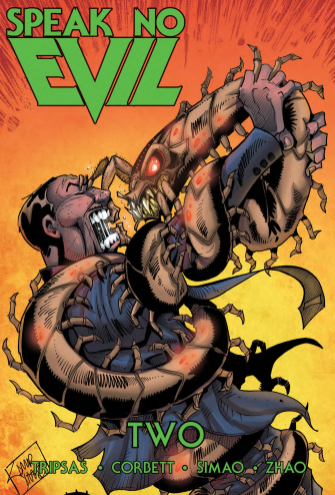 Speak No Evil Issue 2 cover