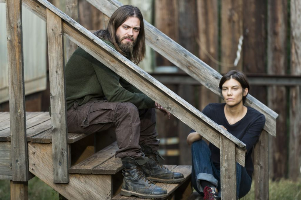 The Other Side The Walking Dead Jesus Maggie