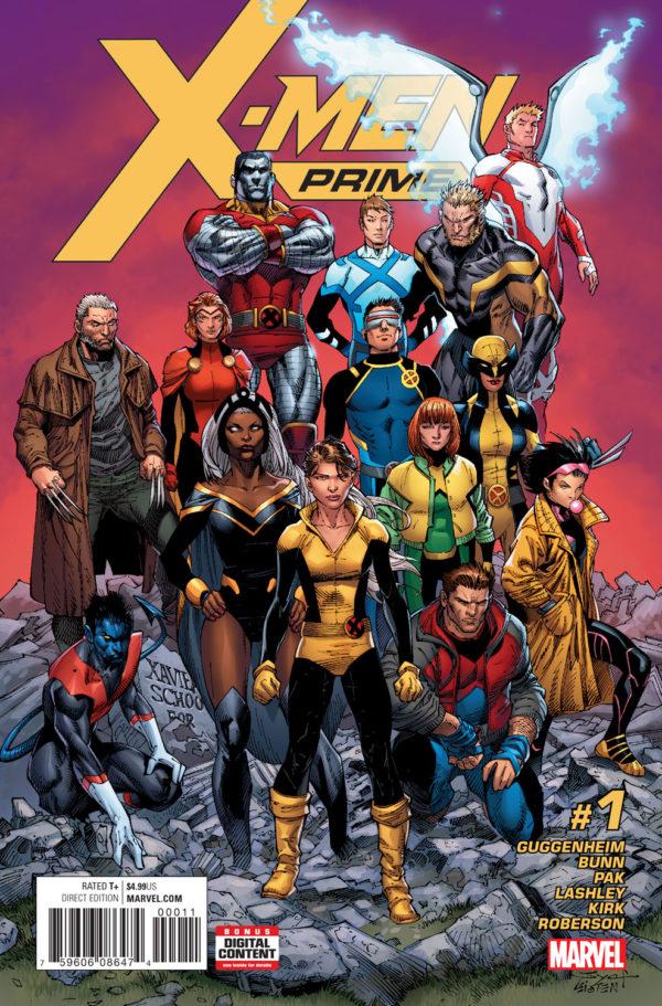X-Men Prime Marvel Comics ResurrXion