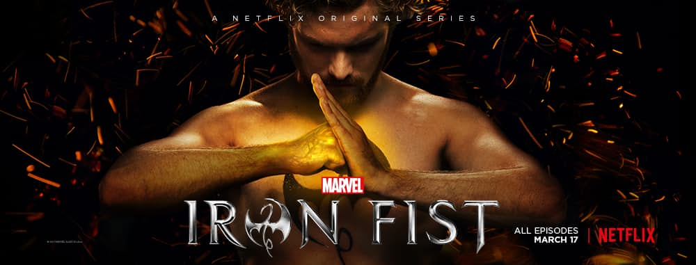 Iron Fist Netflix Marvel Finn Jones