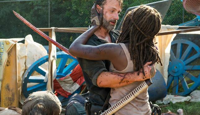 Say Yes The Walking Dead Richonne Rick Grimes Michonne