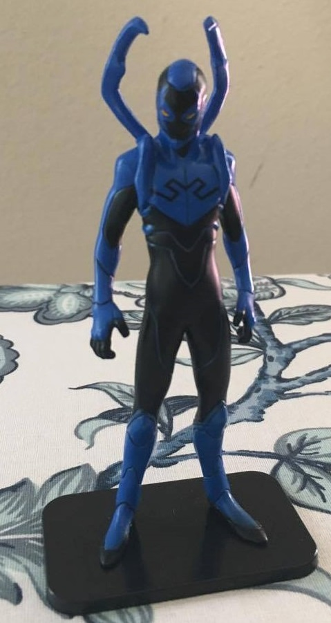 Teen Titans Judas Contract Blue Beetle