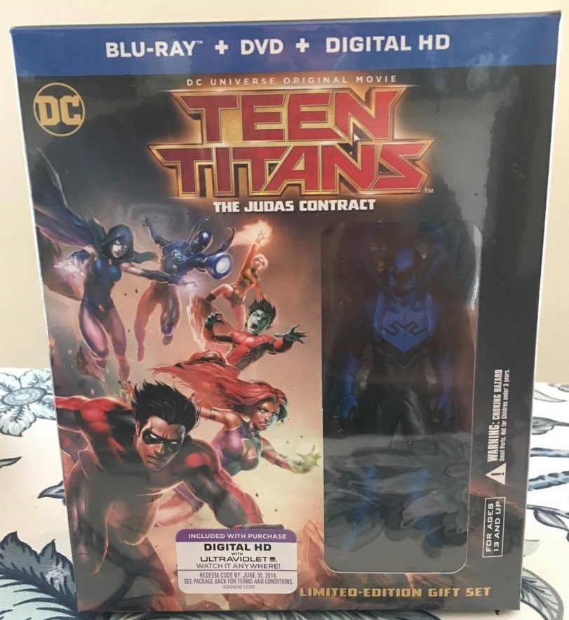Teen Titans The Judas Contract Limited Edition Deluxe Blu-ray Giftset