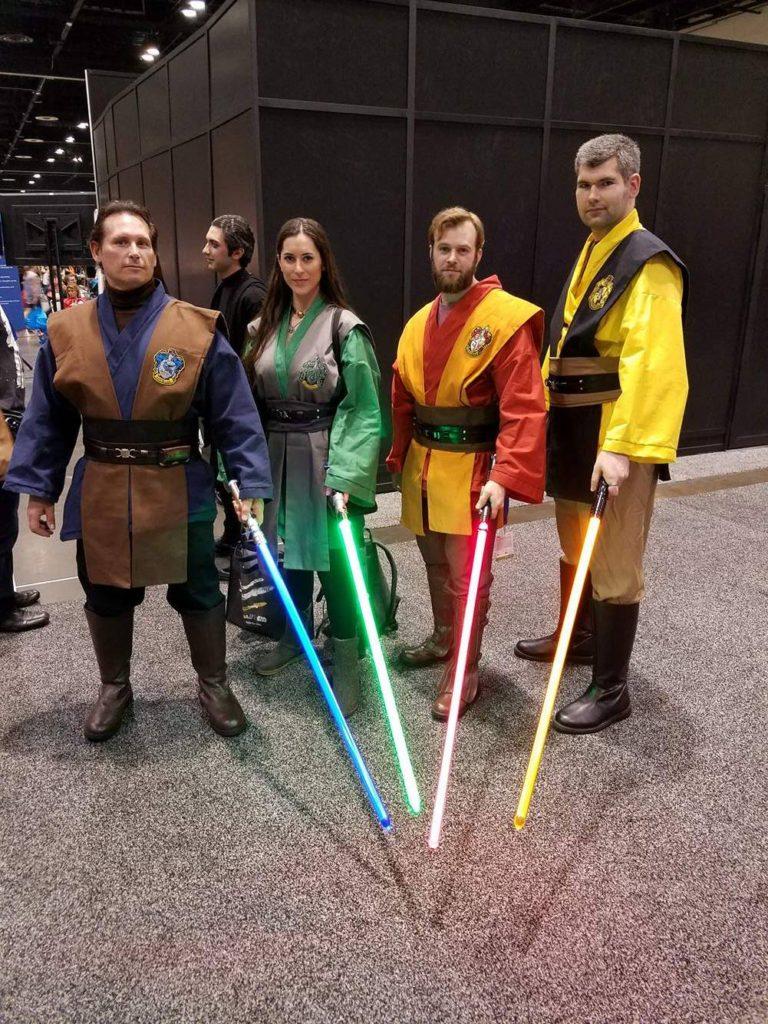 Star Wars Celebration Orlando Cosplay Hogwarts Jedi Ravenclaw Slytherin Gryffindor Hufflepuff