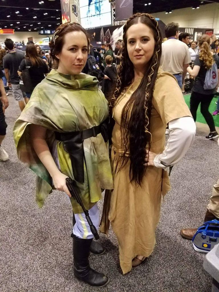 Star Wars Celebration Orlando Cosplay Princess Leia Organa Return of the Jedi