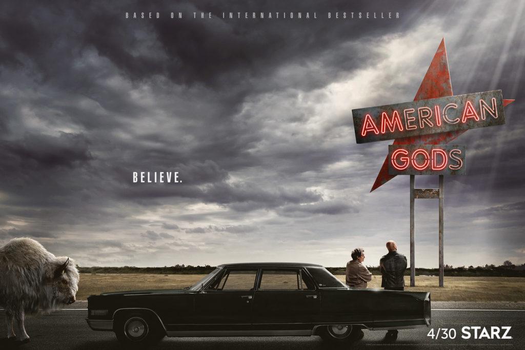 diversity in American Gods titlecard