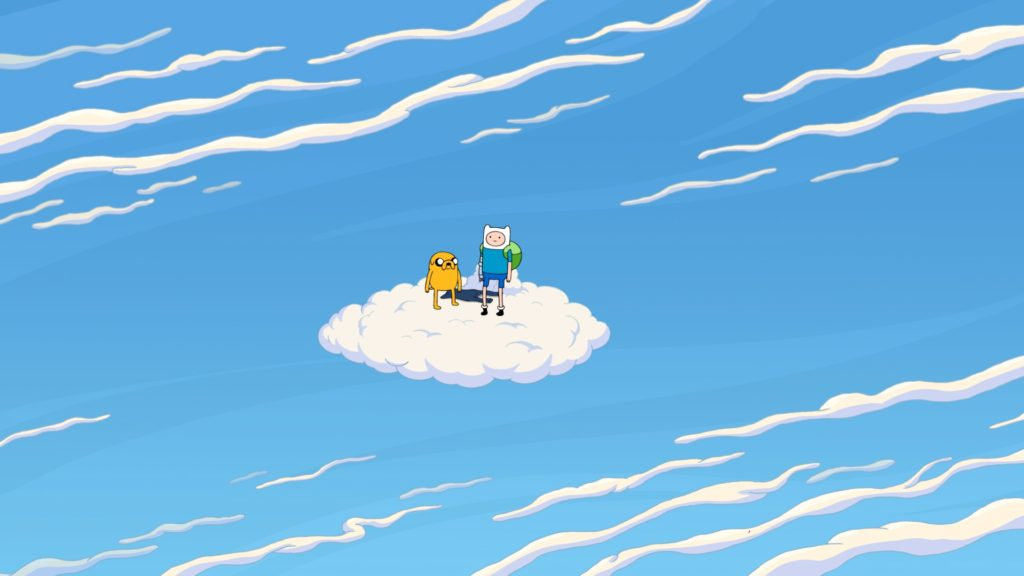 Adventure Time Cloudy