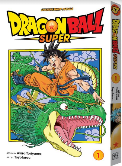 Dragon Ball Super Viz Media Manga