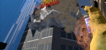 "Destroy Cities With Rank17's ""Mighty Monster Mayhem"" Coming to Steam VR/HTC Vive April 20!"
