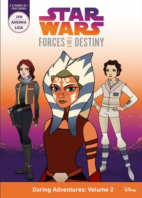 Star Wars Forces of Destiny books