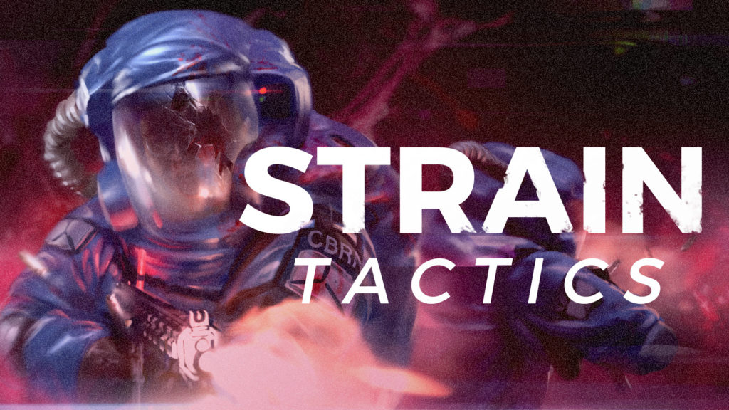 Strain Tactics game steam touch dimensions