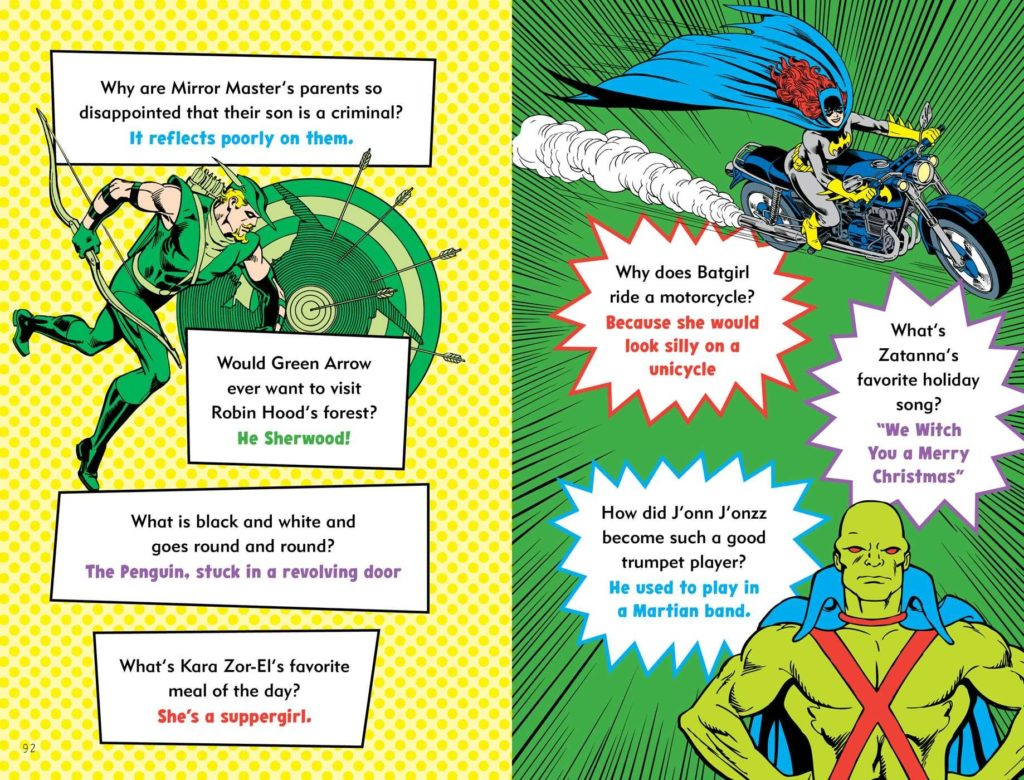 The official DC Super Hero Joke Book review