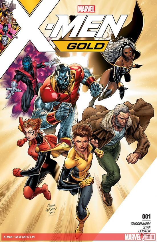 X-Men Gold Issue 1
