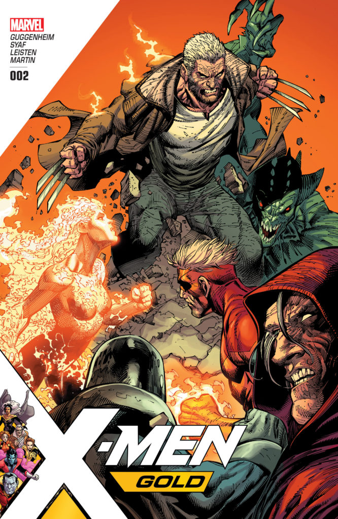 X-Men Gold Issue 2 title cover review