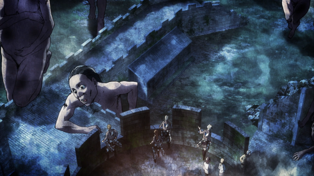 Attack on Titan Southwestward