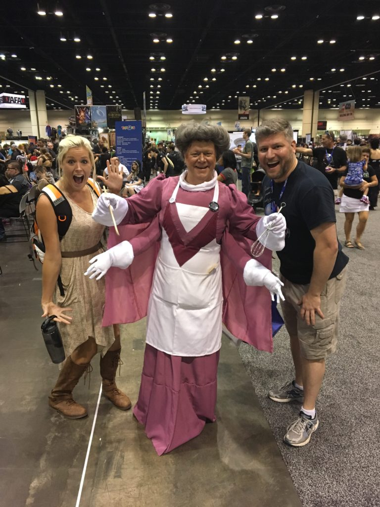 Star Wars Celebration Orlando Cosplay Star Wars Holiday Special Chef Gormaanda
