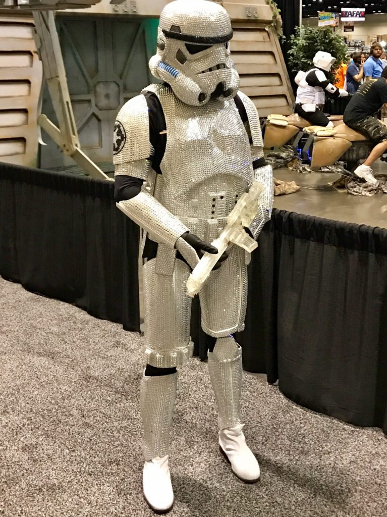 Star Wars Celebration Orlando Cosplay Stormtrooper Bling