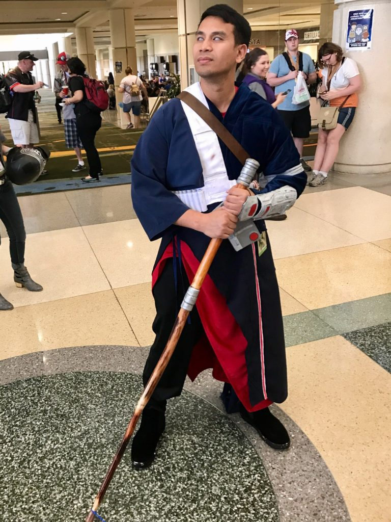 Star Wars Celebration Orlando Cosplay Rogue One Chirrut Imwe